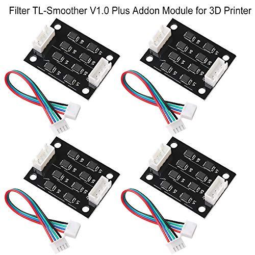 4 stücke TL-Smoother V1.0 Plus Addon Modul 3D Drucker Zubehör Filter für Muster Eliminierung Motor Clipping Filter 3D Pinter Motortreiber Terminator Reprap MK8 I3