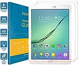 PREMYO 2 Stück Panzerglas Schutzglas Bildschirmschutzfolie Folie kompatibel für Samsung Galaxy Tab S2 9.7 HD-Klar 9H Anti Kratzer Blasen Fingerabdrücke