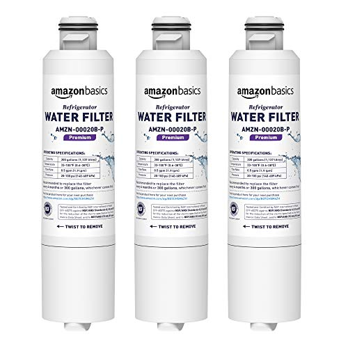 AmazonBasics - Filtro de agua de repuesto para frigorífico Samsung DA29-00020B -...