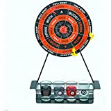 UKayed ® Down in One Darts Adult Drinking Game with Mini Dart Board and Shot Glasses