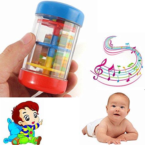 PhilMat Strumenti Orff rainmaker tubo shaker sensoriale uditiva musica del bambino