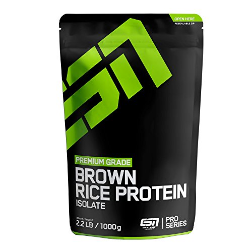 ESN Rice Protein Isolate, Cinnamon Roll, 1kg (Protein Cinnamon Roll)