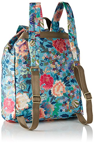 Oilily OES7118, Zaino Donna, 16x41x33 cm Multicolore ( Pool Blue)