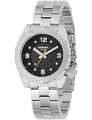 Diesel Damen-Armbanduhr Analog Quarz Edelstahl DZ5116