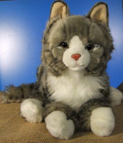 liegende Maine Coon Katze 40 cm