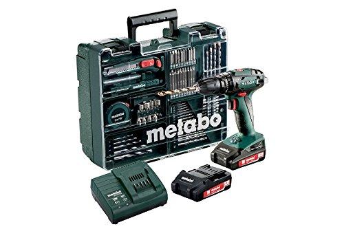 Metabo SB 18 Set (602245880) Akku-Schlagbohrmaschine | 2x18V/2Ah Li-Ion