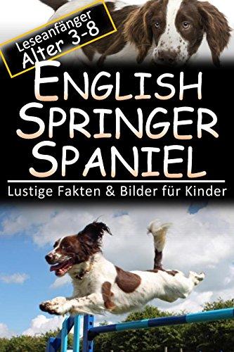 English Springer Spaniel: Lustige Fakten & Bilder für Kinder, Leseanfänger Alter 3-8 (Bild Springer Spaniel)