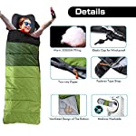 ieGeek Sleeping Bag, Ultra-light Outdoor Sleeping Bag, 220 x 75 cm, Easy to Carry, Lightweight, Compact, 4 Seasons for… 10