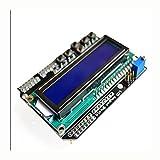 LCD Keypad Shield LCD1602LCD-Modul 1602Display für Arduino ATmega328ATmega2560Raspberry Pi UNO Blau Bildschirm