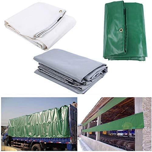 AOOPOO 2x3m / 3x4m PVC Telone Occhiellato Telone Impermeabile e multiuso telo di protezione carport telone gazebo da giardino tenda tendone