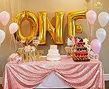 ShinyBeauty Nappe rectangulaire à Paillettes Rose 122 x 183 cm Décorations de Mariage Nappe de fête CT0614