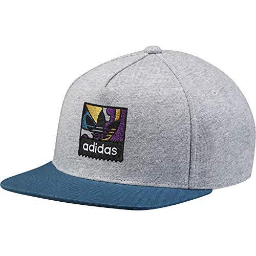 Adidas Jersey Cap (adidas Damen Jersey Snapback Kappe, Pale Melange, OSFW)