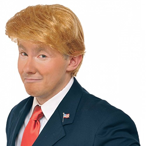 Mr. Billionaire (Donald Trump) Costume Wig Adult