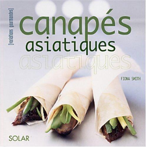 Canapés asiatiques