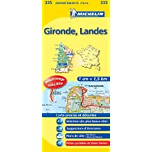 Carte DPARTEMENTS Gironde, Landes