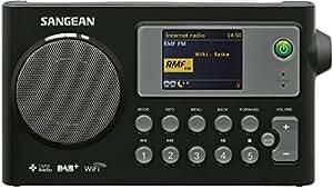 Sangean WFR-27C Radio Internert / Récepteur numérique DAB+ / FM-RDS / Lecteur Réseau