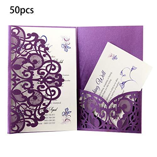 FifijuanC Lot de 50 cartes d'inv...