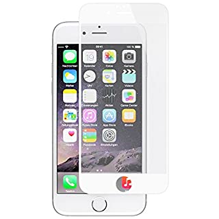 Artwizz 6641-1430 ScratchStopper Screen Protector for Apple iPhone 6/6S - White Frame