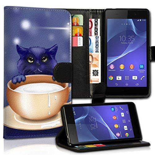 Wallet Book Style Flip Handy Tasche Case Schutz Hülle Schale Motiv Etui für Apple iPhone 4 / 4S - Variante UMV18 Design12 Design 10
