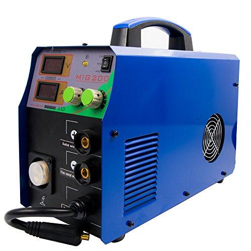 TIG/MMA/Stick/mig soldador-Sense IGBT AC-DC inversor 3 en 1 máquina de soldadura combinada multi-función 220V 200 amp