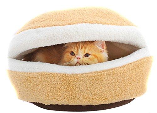 Kleine Hundekatze-Haustier Weiche Schlafenbett-Beutel Nest gemütlich Mat Warm Haus Hiding