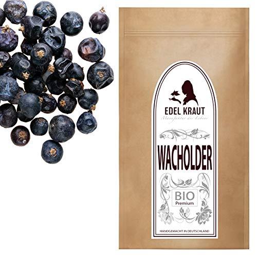 Wacholderbeeren Tee (EDEL KRAUT   BIO Wacholder Beeren (ganz, getrocknet) Superfood 100g - RAW - VEGAN - PURE - kbA)
