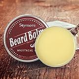 Skymore Beardbalm, Bartbalsam mit natürlichem Bienenwachses Für Männer und Bartträger, Bartcreme und Bartwachs, Perfektes Geschenk zum Vatertag, 1er Pack (1x60g)