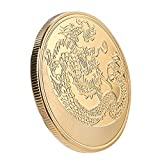 2f67f80cab Moneta commemorativa cinese Dragon Challenge, oggetto da collezione, idea  regalo