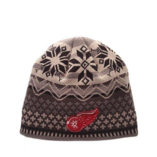 Zephyr Nhl Hut (Zephyr NHL DETROIT RED WINGS Oslo Knit (Wintermütze))