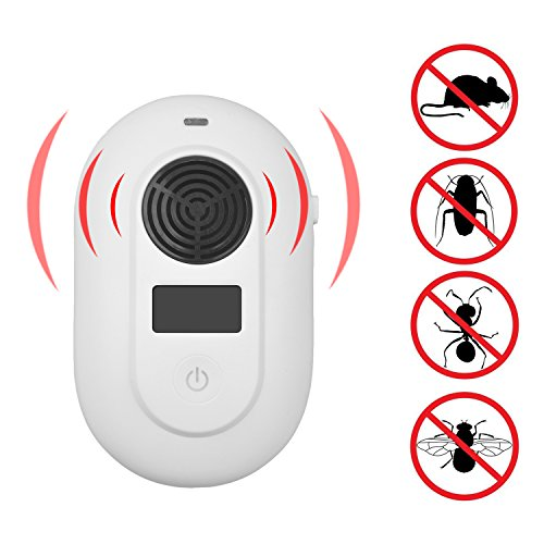 LX-LD Ultraschall/Elektromagnetischer Pest Repeller, Electronic Control Bug Repellent in Indoor Get Rid of Mosquito, Mice, Cockroach, Ants, Housefly, Reject Other Insect & Rodent -