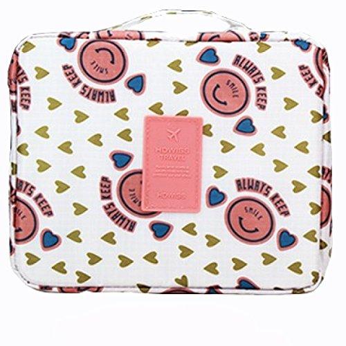 Signore Kit Da Toilette Acqua Viaggio Portatili Sacchetto Di Immagazzinaggio Satchel Handbags Tote,D J