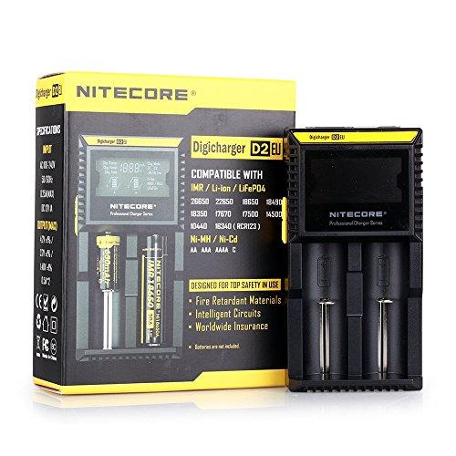 NiteCore D2 EU Intellicharger Intelligent Smart Universal
