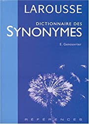 Dictionnaire des synonymes
