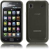 PrimaCase - Noir (Smoke) - Coque TPU Silicone Semi-Transparent pour Samsung Galaxy S i9000 / Plus i9001