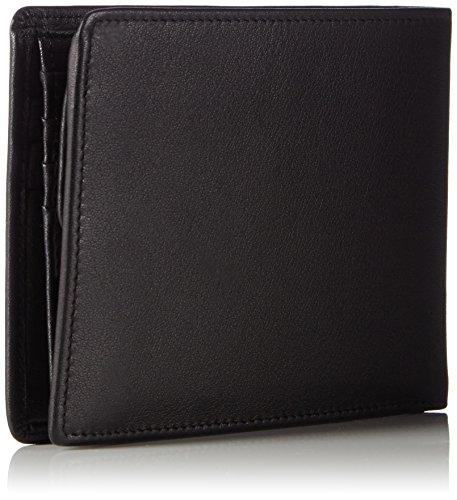 Maitre Herren f3 Galbert Billfold H7 Geldbörsen, 12x10x1 cm Schwarz (Black 900)