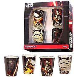 Juego de 4 vasos de chupito de Star Wars
