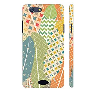 Enthopia Designer Hardshell Case Prints on Feathers 2 Back Cover for Oppo Neo 5