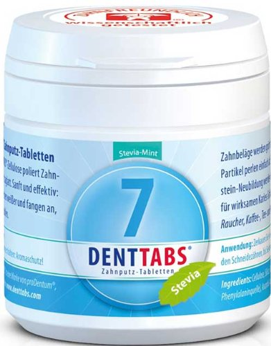 6 Tabletten 125 Tab (Denttabs minz 125St.)