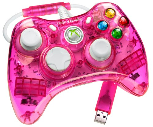Xbox Rock Controller Candy 360 (X360 Controller Rock Candy - pink)