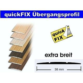 quickFIX Übergangsprofil extra breit 100x3,8 cm in Buche hell