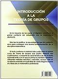 Image de Introducción A La Teoría De Grupos (Ciencia (abecedario))