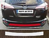 passgenau für Toyota RAV4, ab 2015; Lackschutzfolie Ladekantenschutz transparent