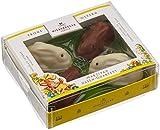 Geschenkidee Schokolade - Niederegger Marzipan Hasen Quartett m. Schokolade, 1er Pack (1 x 100 g)