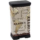 Image of 2045123 bin Curver Reciclaje Plástico Decoración café acabado metálico Multi 50 L