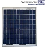 Panneau solaire polycristallin 7W 12V