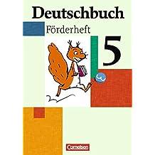 Deutschbuch - Fördermaterial - zu allen Ausgaben: 5. Schuljahr - Förderheft
