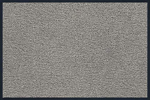 wash+dry Fußmatte Hellgrau 40x60 cm