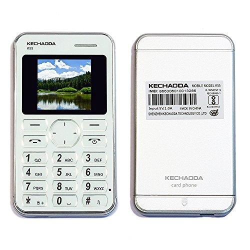 Kechaoda K55 1.44 Inch Qqvga Display Slim Card Size Gsm Single Sim Keypad Mobile