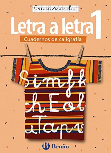 Caligrafía Letra a letra Cuadrícula 1 (Castellano - Material Complementario - Caligrafía Letra A Letra) - 9788421639726 por Ramiro Cabello Sánchez