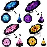 LUVINA Multicolor Folding Umbrella